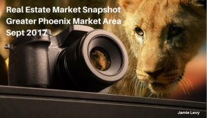Real Estate Market Greater Phoenix Market Area Sept 2017