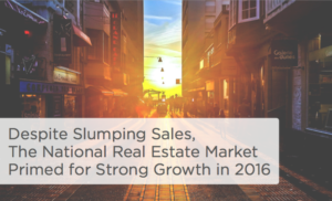National Real Estate Market Primed for Expansion in 2016