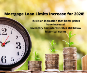 Mortgage Limits Increase For 2020!